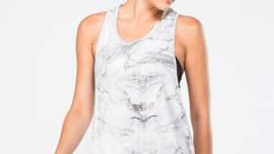 1109 Loose fit Bamboo Tank